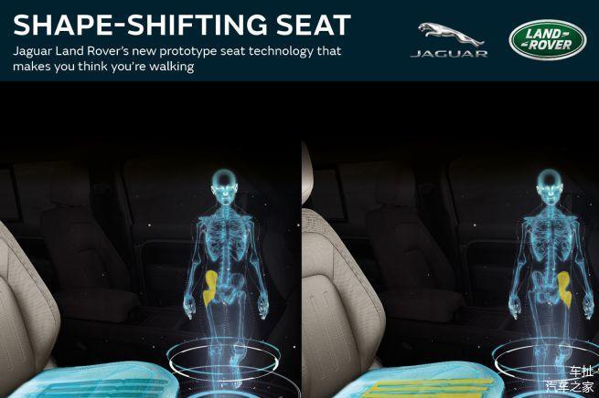"""路虎宣布研发""""可变形""""座椅 主动消除乘坐疲劳感"""