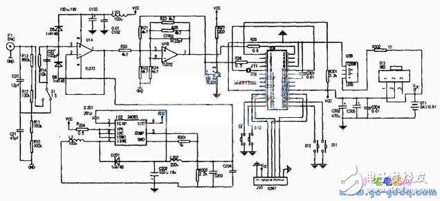 以单片机为核心的微型示波器设计