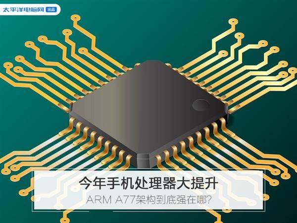 手机GPU性能大幅提升,ARM A77功不可没