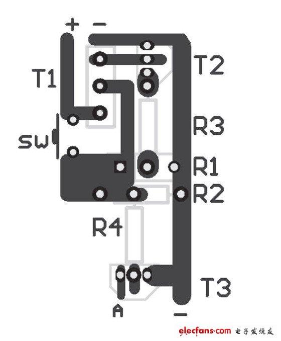 图2 印刷电路图