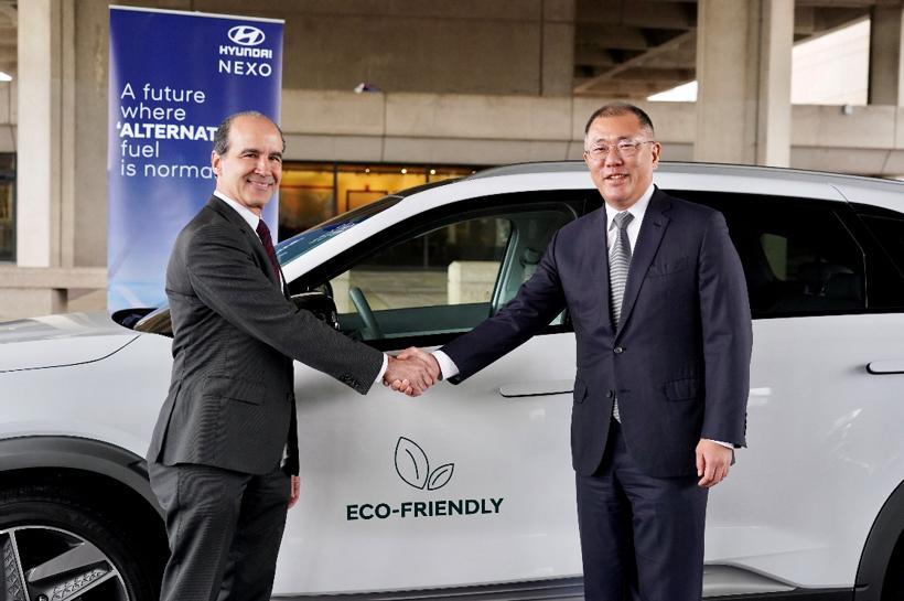 现代汽车与美国政府扩大合作 提供NEXO燃料电池车发展电池技术