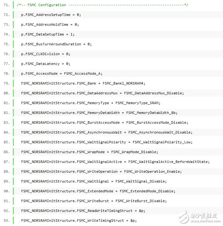STM32通过FSMC读写CPLD的程序,CPLD挂在STM32的地址线和数据线上,将CPLD看做片外RAM的方式来进行读写,在我做的板子上CPLD挂在第四个区,因此基地址是0x6c000000,通过FSMC来进行读写,程序较为简单,具体的地方在函数中都有注释,仅供参考。