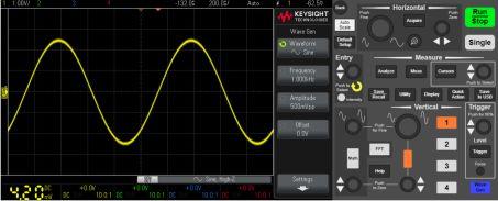 关于1000X示波器的性能分析和介绍