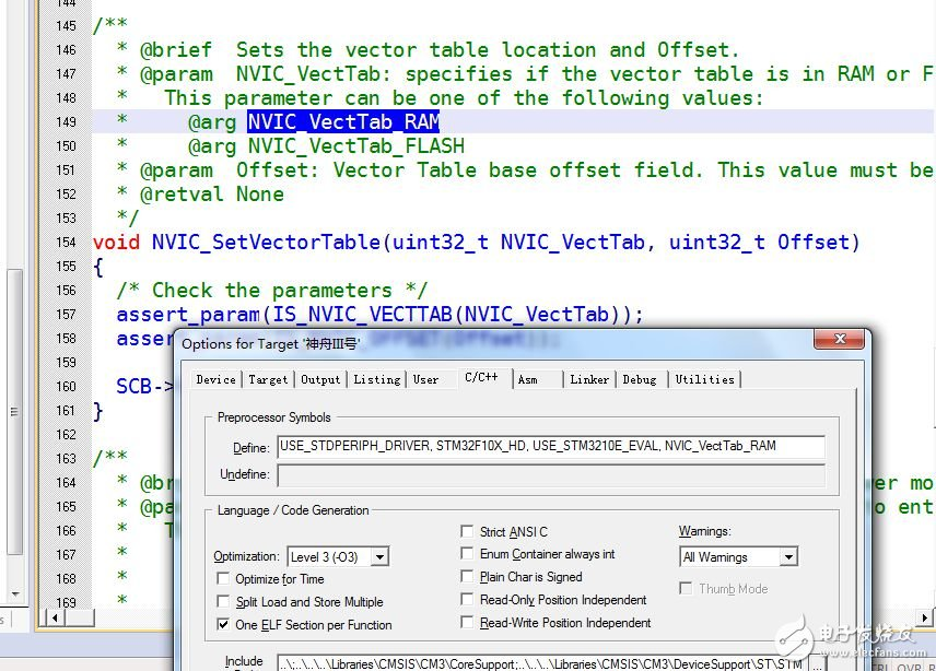 Keil MDK3.20的stm32调试方法