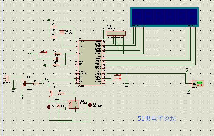 单片机温度计课程设计