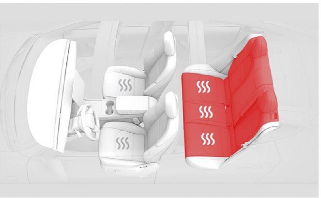 特斯拉为Model 3提供后排无线激活加热座椅