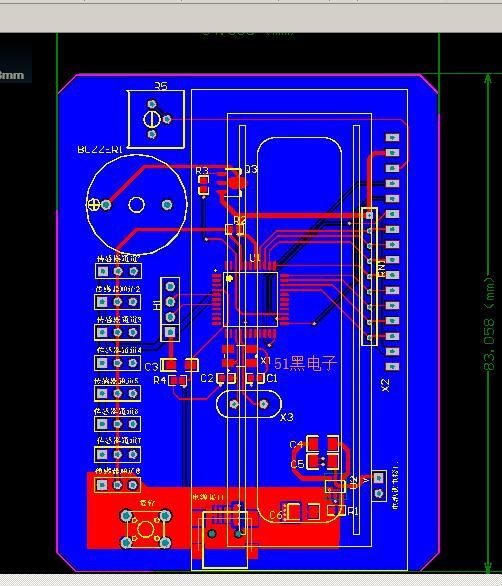 51单片机控制八个DS18B20温度传感器显示