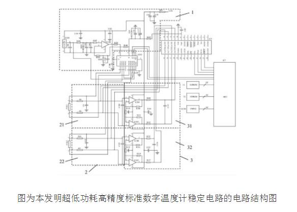 超低功耗高精度数字温度计的原理及校正误差方法