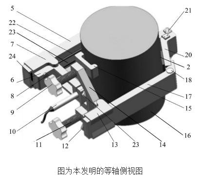 折叠式树径生长量实时精密测量仪的原理及设计