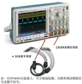 混合信号示波器兼具监测、关联和调试性能