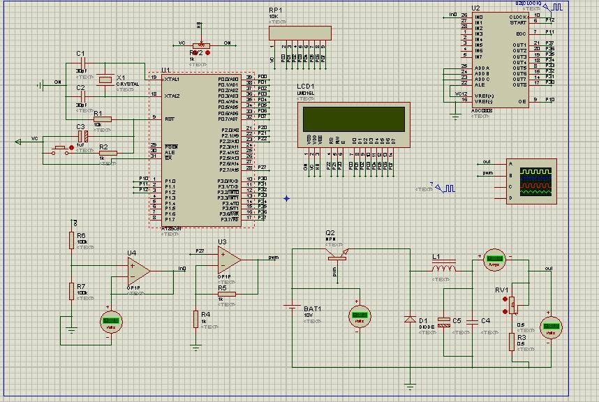 基于51单片机的PID控制的DC/DC电路仿真+程序设计