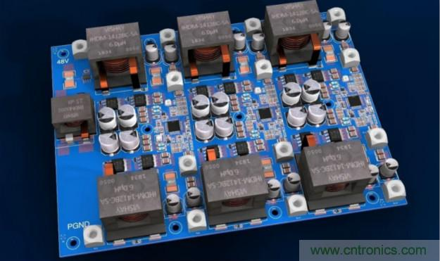 48V/12V汽车电气系统高功率转换器