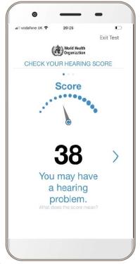 hearWHO hear loss app