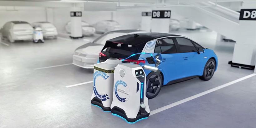 电动汽车,黑科技,前瞻技术,福特移动充电法,福特专利,福特便携式充电专利