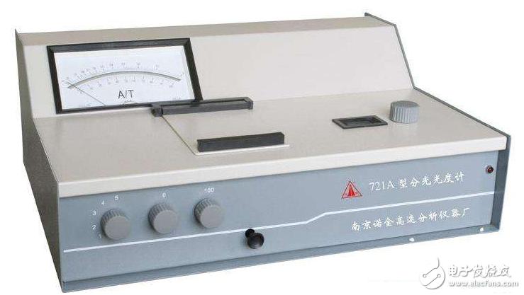 721型分光度计应用及注意事项