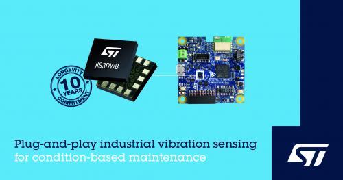 意法半导体振动监测助力工业4.0应用快速发展