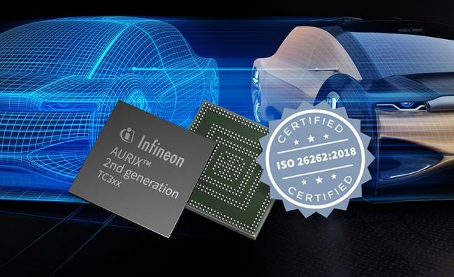 英飞凌AURIX™成为世界首款通过ISO 26262:2018标准ASIL-D认证的嵌入式安全控制器