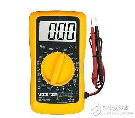 万用表测电阻的方法_万用表测电阻的步骤及注意事项