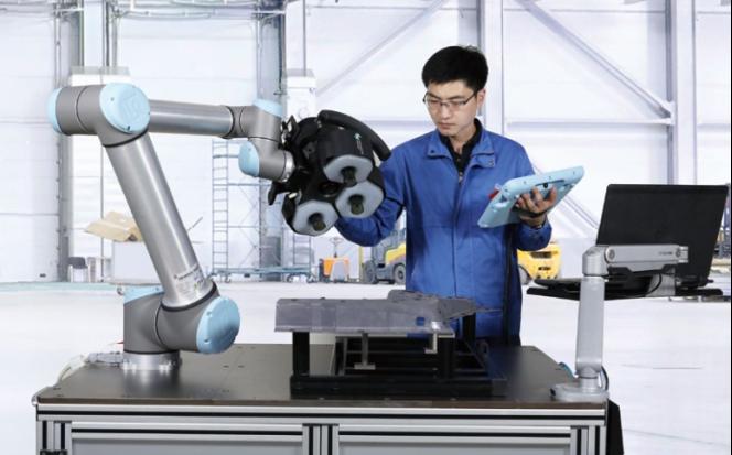 海克斯康蓝光协作自动化测量方案,寻找人机协作最佳点