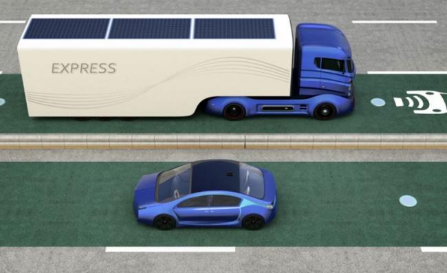 可扩展的无线充电系统可以为行驶中的电动汽车充电