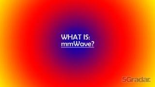 毫米波:5G mmWave频谱详细解读