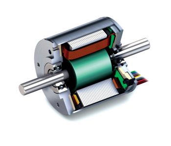 Figure 2: Three-Phase Brushless Motor