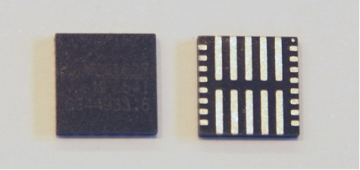 Figure 5: FC-QFN Package Showing Underside Thermal Pads