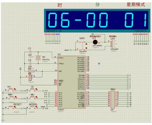 基于51单片机对自动打铃系统的设计