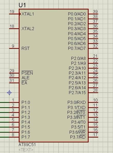 基于51单片机对1602液晶板的并行操作