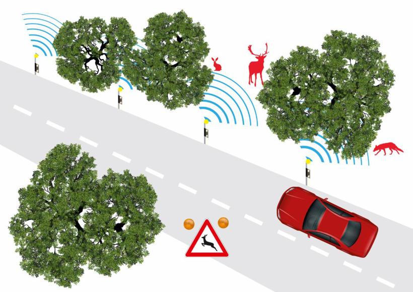 前瞻技术,道路基础设施,车辆通信,V2X,物体检测,物体分类,物体运动预测
