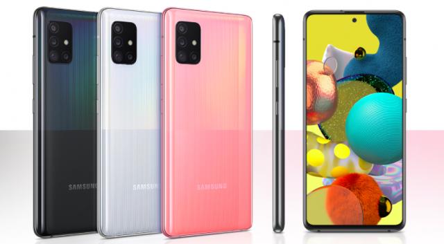 5G中端市场性价比旗舰之王:三星Galaxy A51