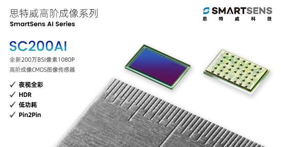 步入高阶成像时代,思特威高阶成像CMOS图像传感器问市