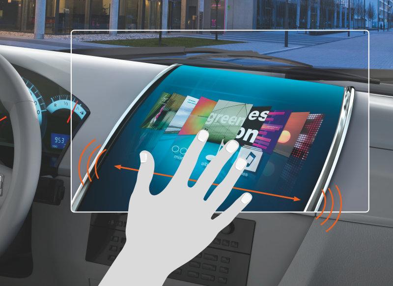 欧司朗推紧凑型红外LED 可在车内空间实现手势控制功能