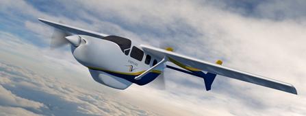 Ampaire高效环保电气系统推动让航空旅行更绿色