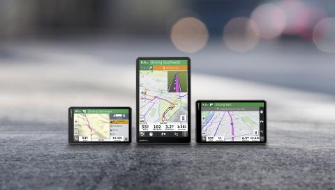 佳明推出新款大尺寸卡车GPS导航装置 可定制卡车路线
