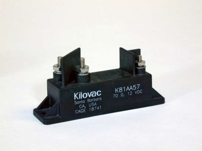 KILOVAC K81A high-voltage relay with a high temperature rating of 290°C (554°F) for 500 hours (Image: TE Connectivity)