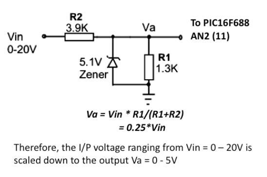 使用PIC单片机开发的简易数字电压表