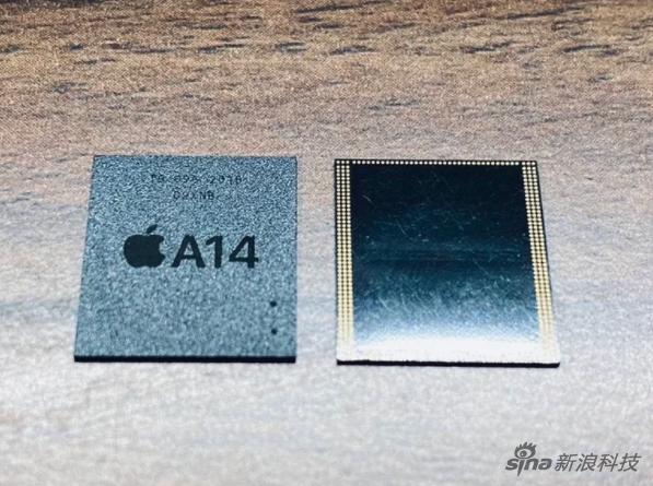 这颗芯片其实是是A14的RAM组件