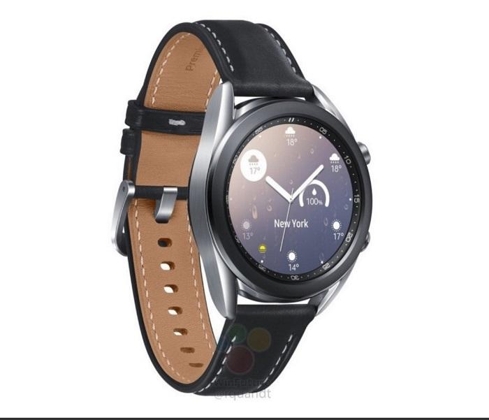 疑三星Galaxy Watch 3智能手表官方渲染图曝光