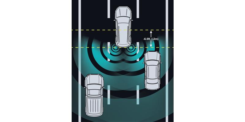 先锋推出三款盲点探测产品 最大探测范围约为25米