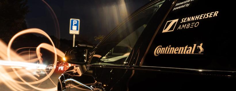 大陆与森海塞尔展示下一代车载音频方案 为每个座位定制音频体验