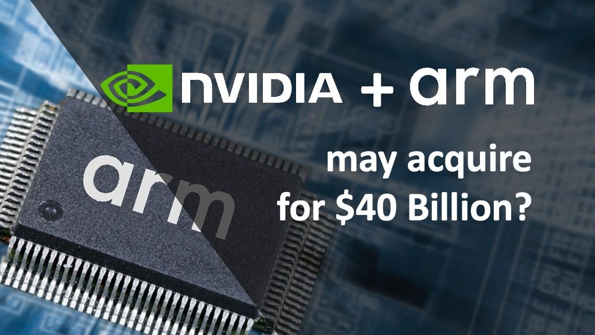 终于官宣了,英伟达400亿美元收购ARM