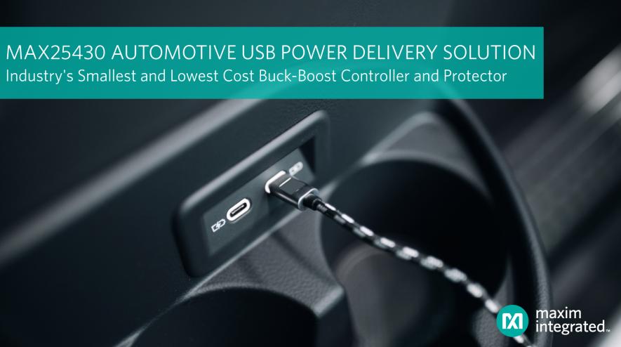Maxim 全新buck/boost控制器问市,设计尺寸可大幅缩减