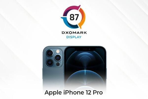 iPhone12 Pro屏幕成绩揭晓,全球第三,但输给了国产机型