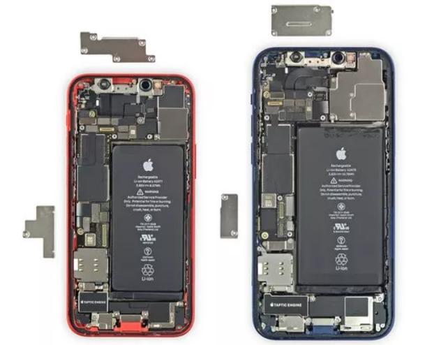 iPhone12 mini 是如何进行瘦身的?