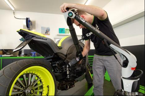 海克斯康绝对关节臂测量机,赋予电动车灵活高效设计效果