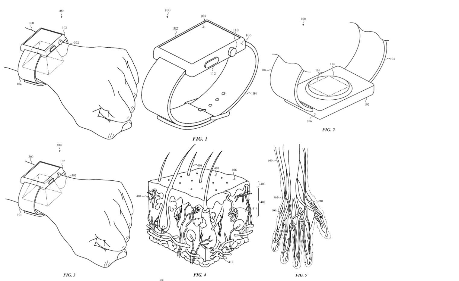 苹果新专利:为 Apple Watch 安排一个全新识别方式?
