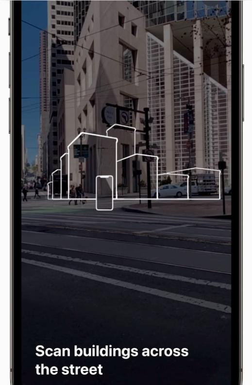 iOS 15 地图 AR 导航