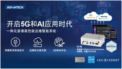 重磅新品!研华EI-52边缘智能系统搭载Intel第11代处理器