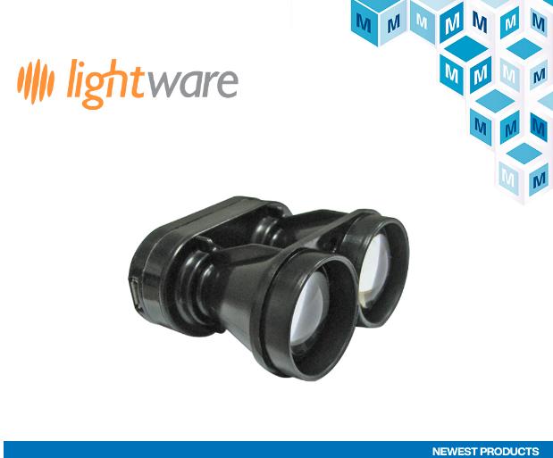 贸泽电子与LightWareLiDAR签署全球分销协议